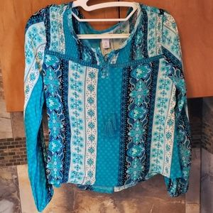 Justice girls blouse